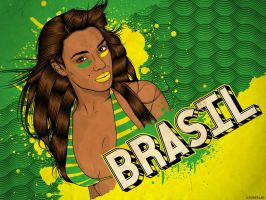 Brazil Wallpaper by roberlan
