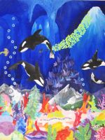 The Orcas by Nimily