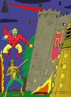 Dr Who Challenge flat colors by FG-Arcadia