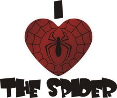 I Heart the Spider by Jay13x