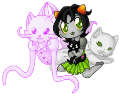 Kitty Kuddles by Dreams-Child