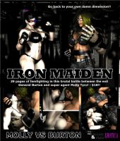Iron Maiden - Front Cover by Realms-And-Void