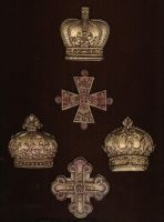 scanned-stock crowns + crosses by scanned-stock