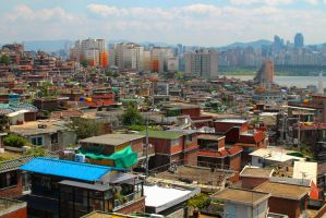 Itaewon Roofs by aMoniker