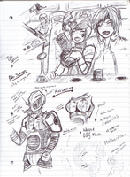 Notes and Sketches pt2 by Nullifie