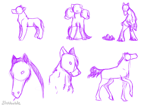 Some Random Doodles by Flubbuble