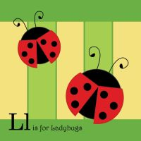 L is for Ladybugs by tlagrange