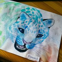 Colorful Leopard by oOJurOo