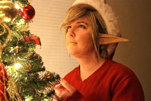 Merry Christmas! Link Cosplay by Freaky-Tomato