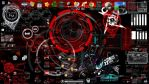 Red Nation Rainmeter Skin by AnzonyD