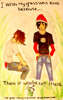 Nick and Derrick..Emo guys by Nar-Amarth
