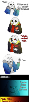 Undertale - whelp, too bad then! by lyoth737