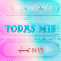 +TODAS MIS FONTS by BeCreativePeople