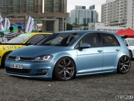 Volkswagen Golf VII on GTR`s by C4RS200