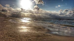 Late summer on Baltic Sea by vdf