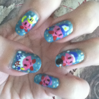 Kirby Manicure Left by MikariStar