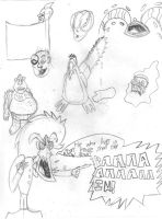 Pencil Doodles 4 by KombatMaster94