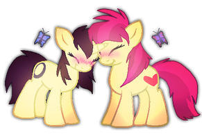 Butterflies by Mythical-Pixel