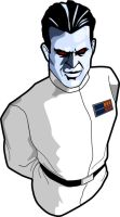 Grand Admiral Thrawn by bloodredsandman