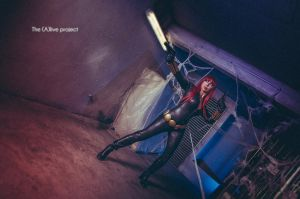 Black Widow cosplay by EnModeCroft