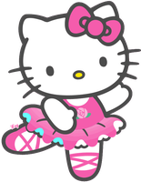 Hello Kitty Ballet :3 en PNG by DesignsMay
