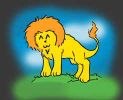 siple lion by GolemDuck
