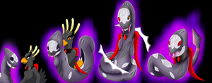 Costumed entranced Phoenix (Shadow Seviper TF) by DarkDragon-Phoenix