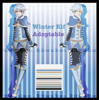 Auction Adoptable:: Winter Elf [CLOSE] by RibbonDesu