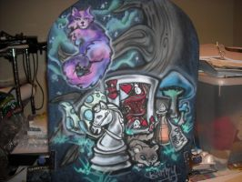 Alice in Wonderland Back by BankyOne