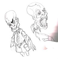 Casual Friday Zombie CPA by Tophoid