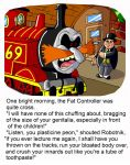 Robotnik the Yank-it Engine by mightyfilm
