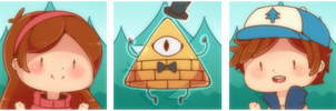 Gravity Falls Icon by WanNyan