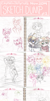 sketch dump as of nov. 2014 - pt.2 by CaptainJellyroll