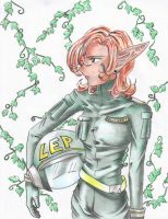 Captain Holly Short of the LEP by mangoes