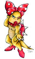 Wendy O. Koopa by KennyAdvance