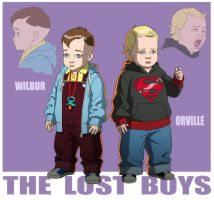 YOUNG JUSTICE: THE LOST BOYS by Jerome-K-Moore