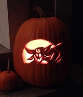 Dragon Pumpkin Carving 2014 by 16Shards