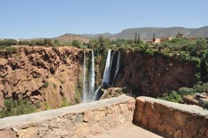 Cascades d'Ouzoud // Morocco by MisstrackStock