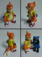OC Buizel Trainer Sculpt Wayne by Sara121089