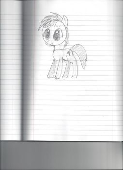 My first pony drawing. by Scorppio500