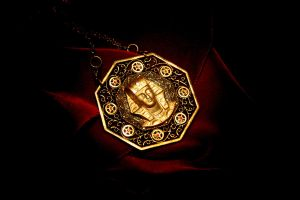 Golden Time Talisman by turnerstokens