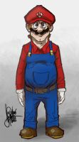 Mario, just Mario by TheArtrix