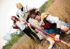 Let's go - Saiyuki Reload by lonehorizon