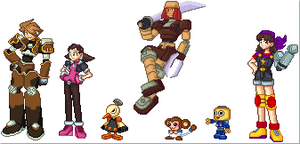 Dash Characters Sprites by Megaman-Legends-Club