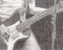 Bass Guitar by zeenat