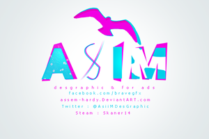 My Name Logo by AsiiMDesGraphiC