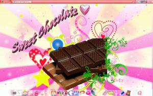 My Chocolate Desktop by pinky-dart-angel