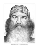 Phil Robertson of Duck Dynasty by gregchapin