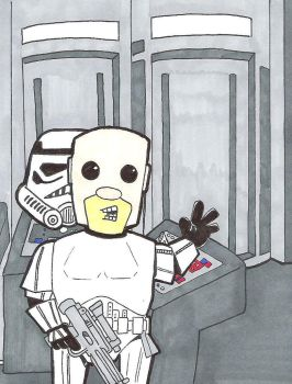 Mevember Day Eleven Stormtrooper by crpechonick