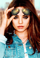 Mila Kunis and the Hypnotic Glasses by 867564
